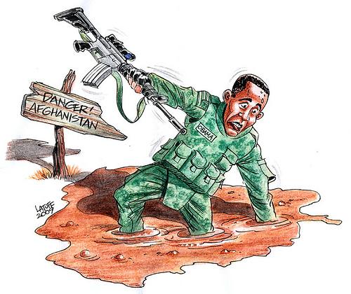 Obama y Afganistán