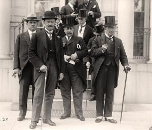 Delegados de la Primera Conferencia Panamericana, Washington, 1889