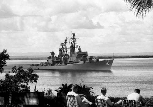 The US Armed Forcese destroyer Sullivan