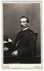 Collection of the author Samuel Kingston sat for this portrait in the photographer Mathew Brady's New York City studio, circa 1863.