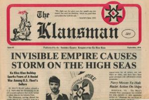 Klan newspaper of the 1970s.