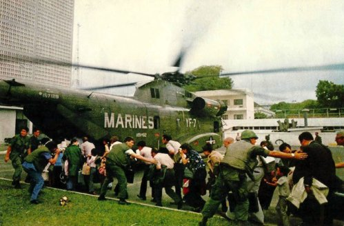 ast Days in Vietnam Civilians evacuating ahead of Communist troops about to enter Saigon in this documentary opening Friday. Credit Juan Valdez/American Experience Films, WGBH