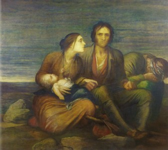 The Irish Famine, 1850 by George Frederic Watts. Source: Views of the Famine.