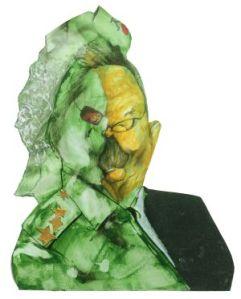Raúl Castro, visto por Sciammarella.
